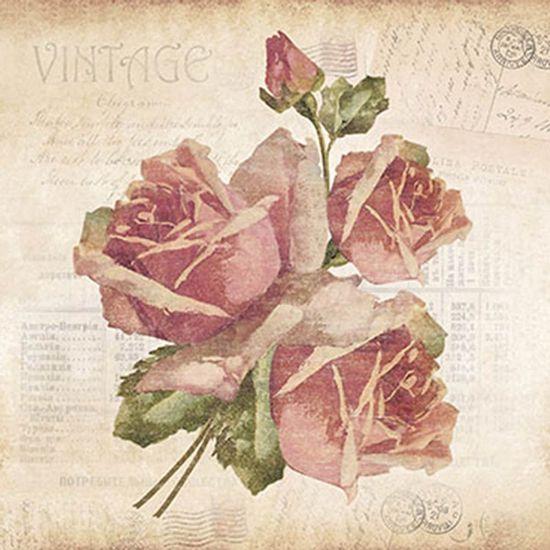 Papel-Decoupage-Adesiva-Litoarte-DAXV-047-15x15cm-Rosas-Fundo-Jornal