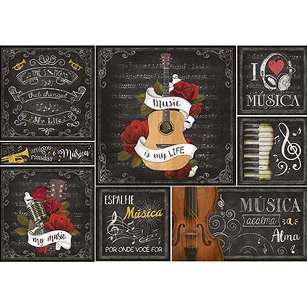 Papel-Decoupage-Litoarte-PD-903-343x49cm-Instrumentos-Musicais-e-Pautas