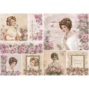 Papel-Decoupage-Litoarte-PD-928-343x49cm-Damas-e-Rosas