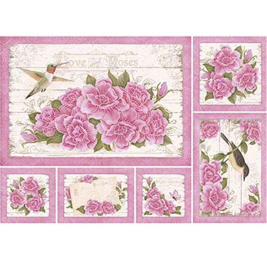 Papel-Decoupage-Litoarte-PD-937-343x49cm-Flores-Cor-de-Rosa-com-Fundo-Branco