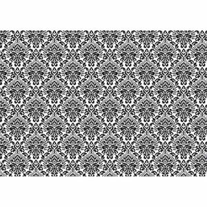 Papel-Decoupage-Litoarte-PD-959-343x49cm-Arabescos-Preto-com-Fundo-Branco