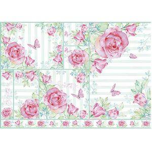 Papel-Decoupage-Litoarte-PD-965-343x49cm-Flores-Rosas-Aquareladas