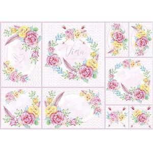 Papel-Decoupage-Litoarte-PD-966-343x49cm-Guirlanda-de-Rosas