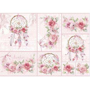 Papel-Decoupage-Litoarte-PD-967-343x49cm-Filtro-dos-Sonhos-com-Rosas