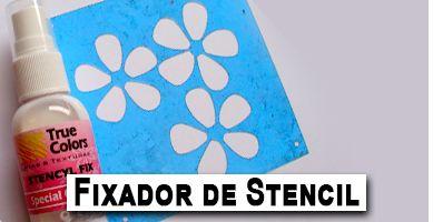 Banner Stencil Fixador