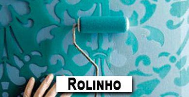 Banner Stencil Rolinho