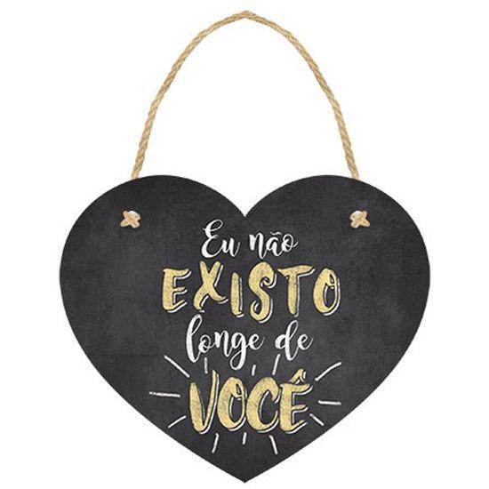 Placa-TAG-MDF-Decorativa-Litoarte-DHT-008-12x10cm-Coracao-Eu-Nao-Existo-Longe-de-Voce