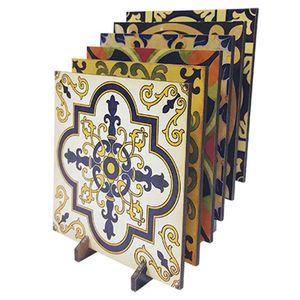 Porta-Copos-Quadrado-em-MDF-Litoarte-KPCL-001-95x95cm-Azulejo
