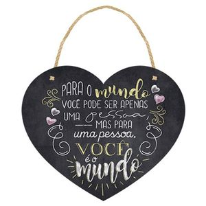 Placa-Decorativa-em-MDF-Litoarte-DHPM5-186-205x17cm-Coracao-Para-o-Mundo