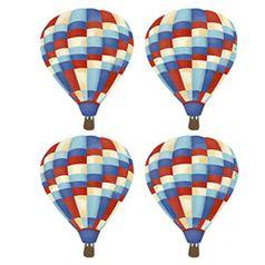 Aplique-Decoupage-Litoarte-APM3-219-em-Papel-e-MDF-3cm-Baloes