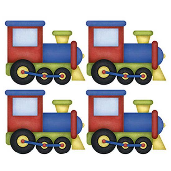 Aplique-Decoupage-Litoarte-APM3-221-em-Papel-e-MDF-3cm-Trem