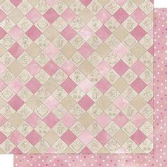 Papel-Scrapbook-Litoarte-305x305cm-SD-031-Xadrez-Infantil-Vintage