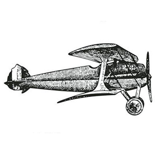 Carimbo-em-Borracha-Litoarte-CLP-074-7x36cm-Aviao
