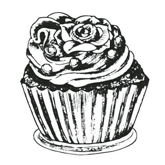 Carimbo-em-Borracha-Litoarte-CLP-094-3x27cm-Cupcake-Pequeno