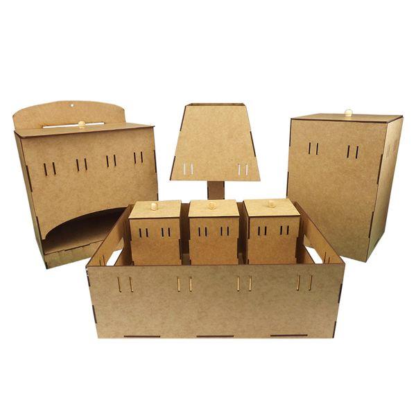 Kit-Higiene-Bebe-Passa-Fitas-7-pecas-com-Abajur-Desmontavel-Palacio-da-Arte