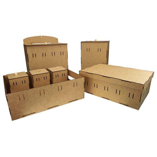 Kit-Higiene-Bebe-Passa-Fitas-7-pecas-com-Farmacinha-Desmontavel-Palacio-da-Arte