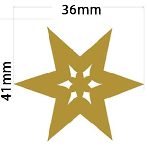 Estrela-41x36cm-FCO005