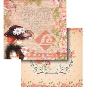 Papel-Scrapbook-Dupla-Face-Rosas-LSCD-267---Litocart