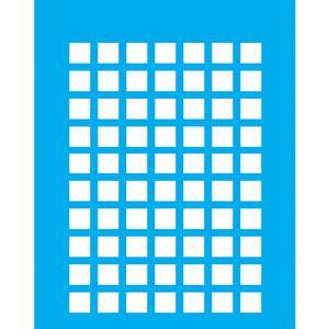 Stencil-Litocart-20x15cm-Pintura-Simples-LSM-089-Quadriculado