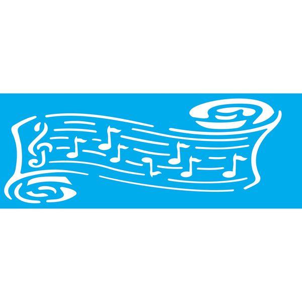 Stencil-Litocart-295x85cm-Pintura-Simples-LS-067-Notas-Musicais
