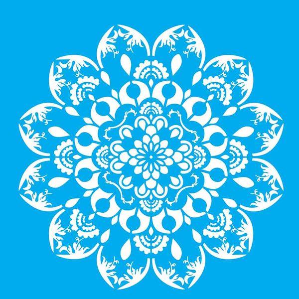 Stencil-Litocart-30x30cm-Pintura-Simples-LSPG-052-Mandala-Gota