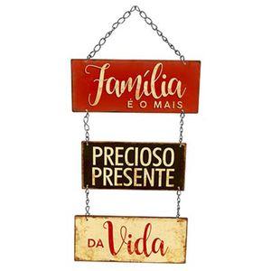 Placa-Decorativa-em-MDF-Litoarte-DHPM5-243-40x24cm-Familia-e-o-Mais-Precioso
