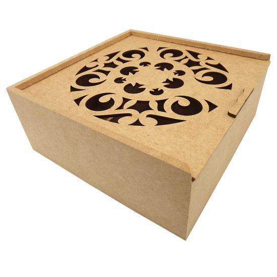 Caixa-Estojo-Quadrada-em-MDF-com-4-Divisoes-Arabesco-20x20x83cm---Palacio-da-Arte