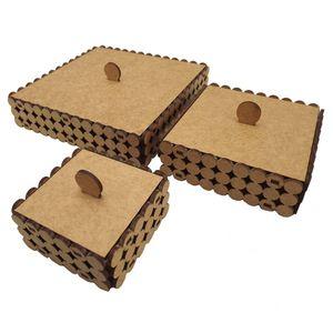 Trio-de-Caixas-Quadrada-em-MDF-Perola-Pequena---Palacio-da-Arte