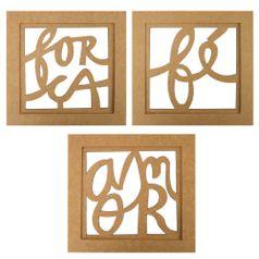Trio-de-Quadros-Decorativo-em-MDF-Mensagem-30x30cm---Palacio-da-Arte