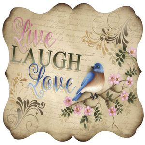 Placa-Decorativa-Litocart-LPQC-065-25x25cm-Live-Laugh-Love