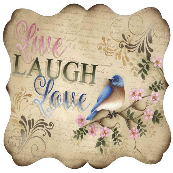 Placa-Decorativa-Litocart-LPQC-065-25x25cm-Live-Laugh-Love
