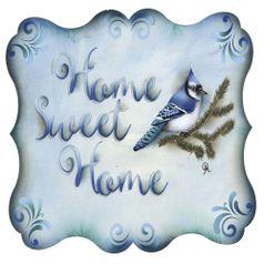 Placa-Decorativa-Litocart-LPQC-066-25x25cm-Home-Sweet-Home