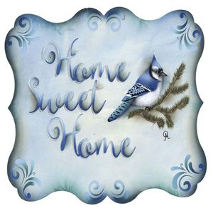 Placa-Decorativa-Litocart-LPQC-066-25x25cm-Home-Sweet-Home