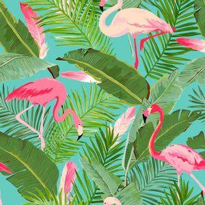 Papel-Scrapbook-Litocart-LSCE-005-305x305cm-Flamingos-e-Folhas
