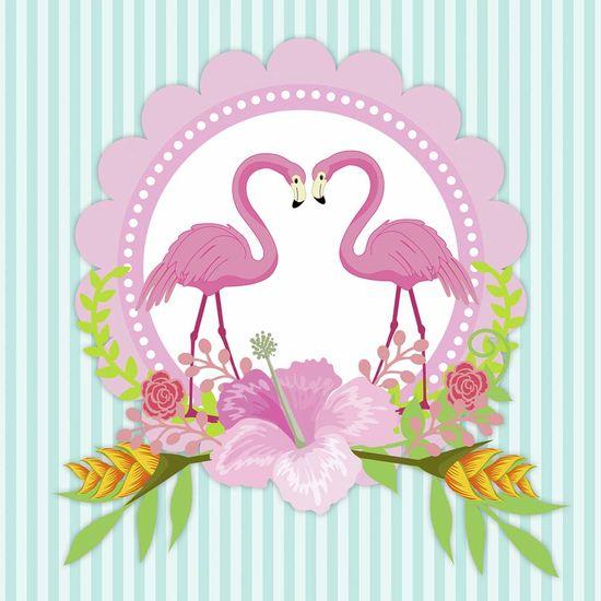 Papel-Scrapbook-Litocart-LSCE-006-305x305cm-Guirlanda-Flamingos