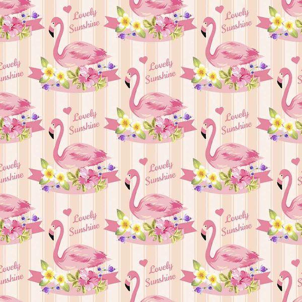 Papel-Scrapbook-Litocart-LSCE-008-305x305cm-Flamingos-com-Listras-Rosa