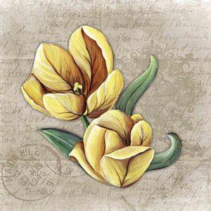 Papel-Scrapbook-Litocart-LSCE-016-305x305cm-Flor-Amarela