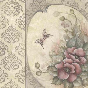 Papel-Scrapbook-Litocart-LSCE-037-305x305cm-Flores-e-Borboleta