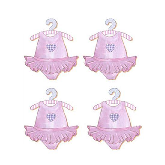 Aplique-Decoupage-Litoarte-APM3-082-em-Papel-e-MDF-3cm-Vestido-Rosa