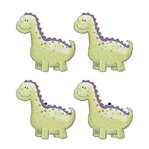 Aplique-Decoupage-Litoarte-APM3-111-em-Papel-e-MDF-3cm-Dinossauro