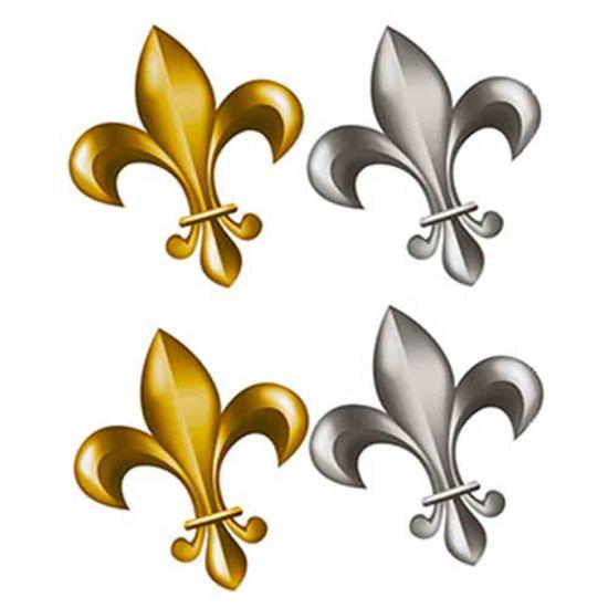Aplique-Decoupage-Litoarte-APM3-130-em-Papel-e-MDF-3cm-Flor-de-Lis