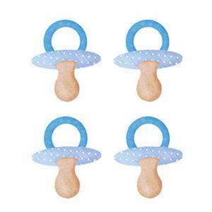 Aplique-Decoupage-Litoarte-APM3-134-em-Papel-e-MDF-3cm-Chupeta-Azul