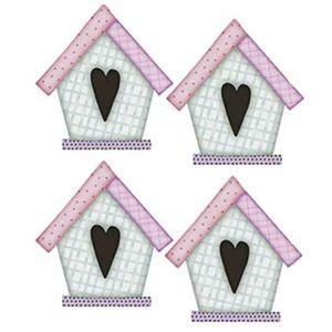 Aplique-Decoupage-Litoarte-APM3-139-em-Papel-e-MDF-3cm-Casinha-de-Passarinho