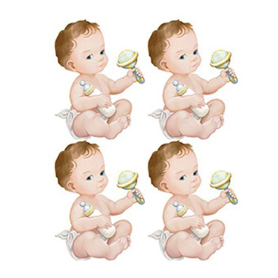 Aplique-Decoupage-Litoarte-APM3-225-em-Papel-e-MDF-3cm-Bebes-Meninos