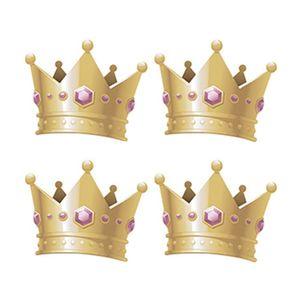 Aplique-Decoupage-Litoarte-APM3-229-em-Papel-e-MDF-3cm-Coroa-de-Princesa