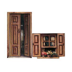 Aplique-Decoupage-Litoarte-APM4-086-em-Papel-e-MDF-4cm-Porta-e-Janela-com-Flores