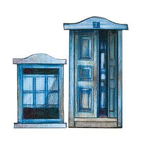 Aplique-Decoupage-Litoarte-APM4-087-em-Papel-e-MDF-4cm-Porta-e-Janela-Azul