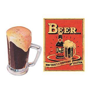 Aplique-Decoupage-Litoarte-APM4-092-em-Papel-e-MDF-4cm-Caneco-e-Cerveja-Duff