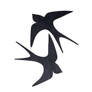Aplique-Decoupage-Litoarte-APM4-100-em-Papel-e-MDF-4cm-Andorinhas