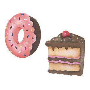 Aplique-Decoupage-Litoarte-APM4-177-em-Papel-e-MDF-4cm-Donuts-e-Torta